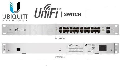 UBNT US-24-250W UNIFI SWITCH 24-PORT POE + 2P SFP