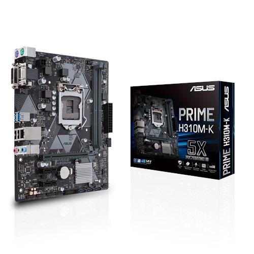 MB ASUS PRIME H310M-K LGA1151 DDR4 VGA DVI USB