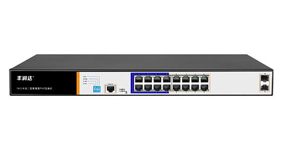 SWITCH POE 18P (16*10/100/1000 POE + 2 SFP) GIGABIT PS3016GS