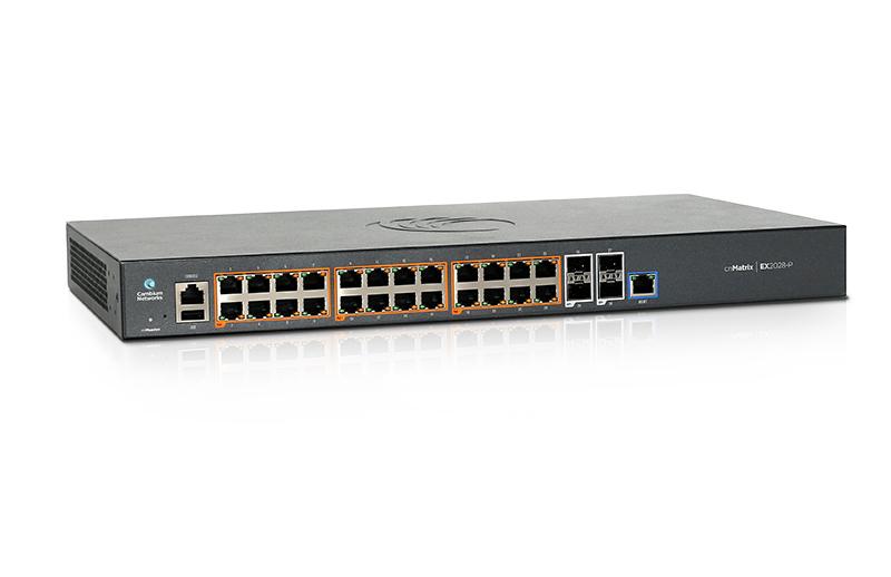 SWITCH 24P EX2028P AC 24X1GB 4SFP+ 400W POE GEREN.CNMATRIX