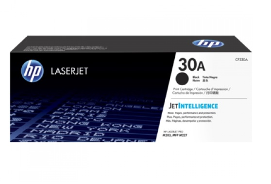TONER HP CF230A (30A) PRETO (LASER M203DW - M227FDW) 1600PAG