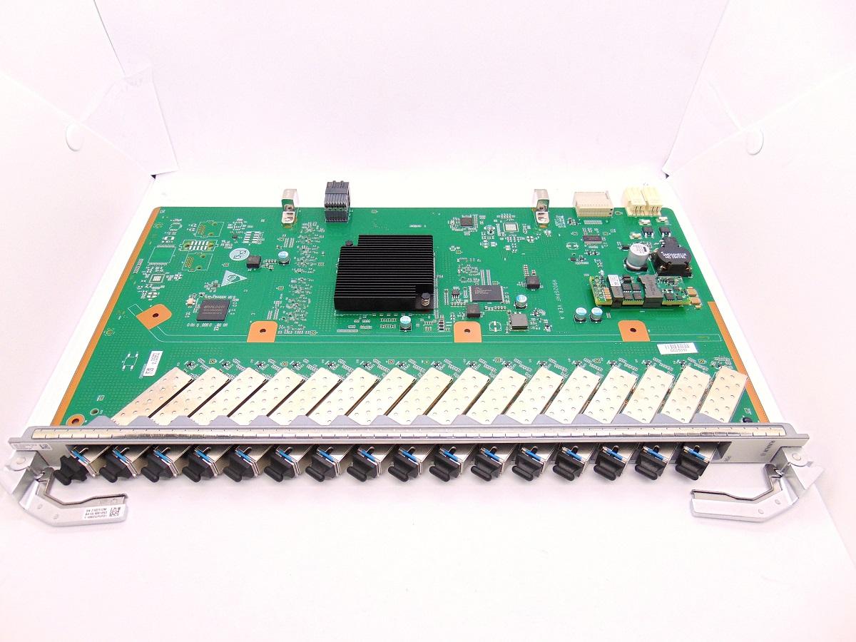 F. OLT HUAWEI PLACA MA5800 GPUF 16 GPON C+
