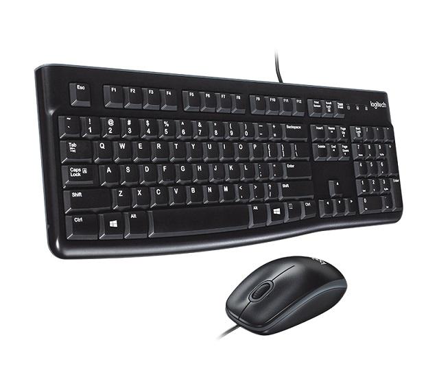 TECLADO LOGITECH + MOUSE USB PRETO MK120 920-002565