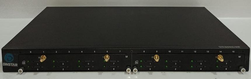GATEWAY GOIP-16 UC2000-VF-16W-M GSM WCDMA DINSTAR