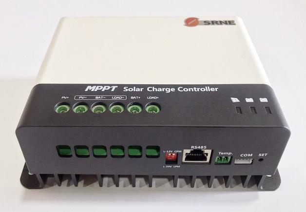 SOLAR MPPT 30A CONTROLADOR 12V/24V RS485 LC2430N10H