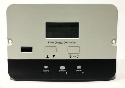 SOLAR PWM 10A CONTROLADOR 12V/24V P2410C
