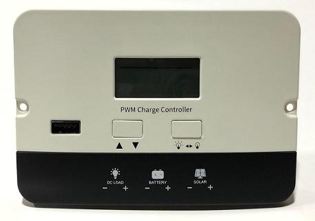 SOLAR PWM 20A CONTROLADOR 12V/24V P2420C