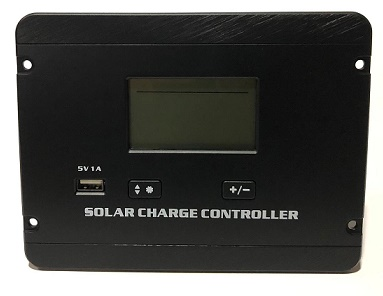SOLAR PWM 30A CONTROLADOR 12V/24V P2430C