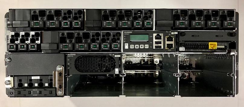 F. OLT FONTE HUAWEI ETP48400-C4A1 75A 1*RETIF R4875G 48V DC