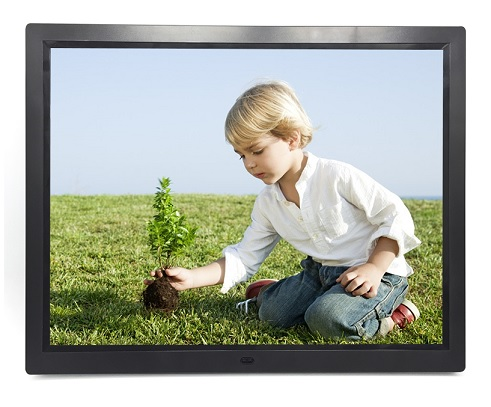 "PORTA RETRATO 15"" DIGITAL LCD LED PS-DPF1502 FULL HD BIVOLT"