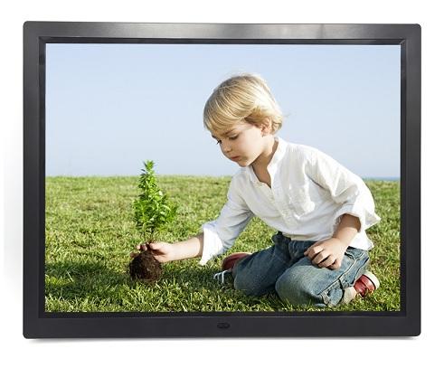 "PORTA RETRATO 15"" DIGITAL LCD LED PS-DPF1504 FULL HD BIVOLT"