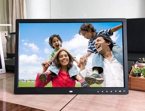 "PORTA RETRATO 17"" DIGITAL LCD LED PS-DPF1703 FULL HD BIVOLT"