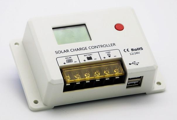 SOLAR PWM 30A CONTROLADOR 12V/24V 2USB HC2430
