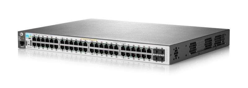 SWITCH HP ARUBA 48P 2530-48G-POE+ (J9772A)48P POE+4SFP