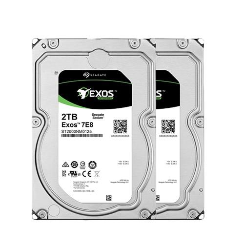 HD 2TB SEAGATE EXOS SATA6 7200RPM ST2000NM0125