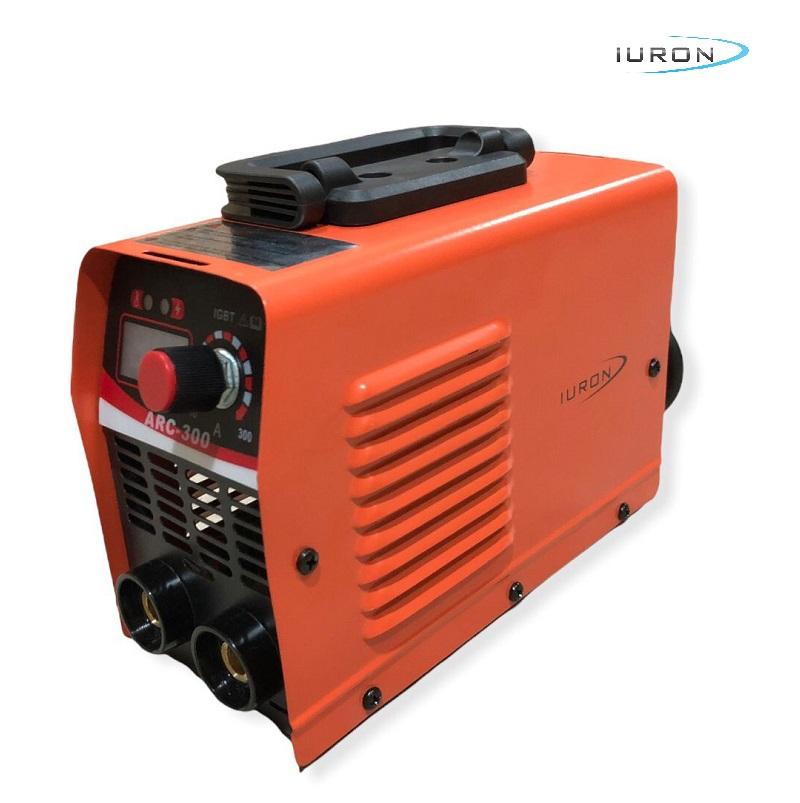 MAQ. DE SOLDA INVERTER PORTATIL ARC-300 MMA 20-300A 220V MIN