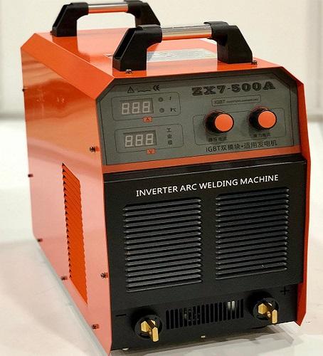 MAQ. DE SOLDA INVERTER PORTATIL ZX7-500A MMA 500A 380V