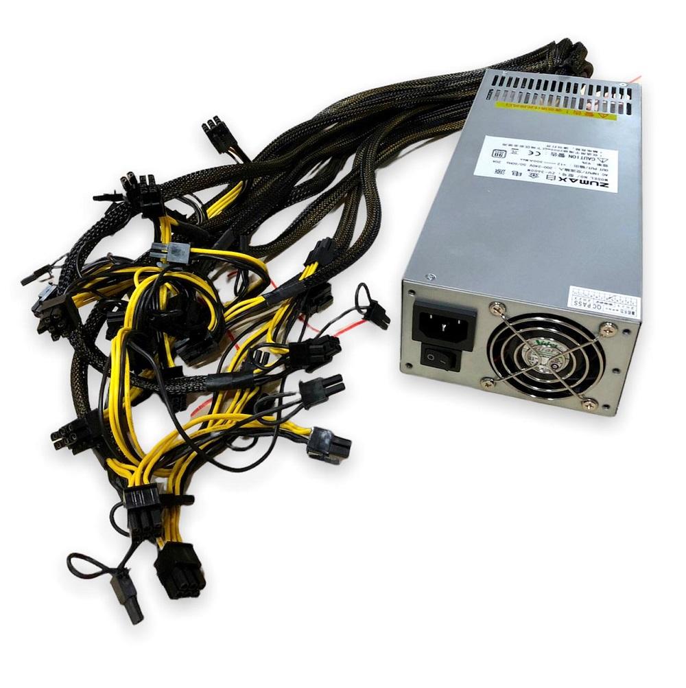 BITCOIN FONTE 3300W PSU 100-270V HQ-750W-3600W