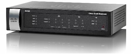 CISCO ROUTER RV320-K9-NA VPN 4P SWITCH GIGABIT